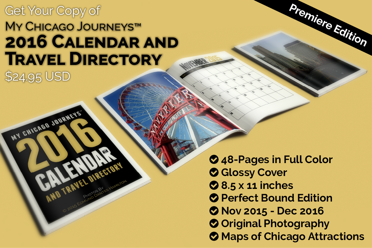Get Your 2016 Calendar and Travel Directory only $24.95 Buy Now